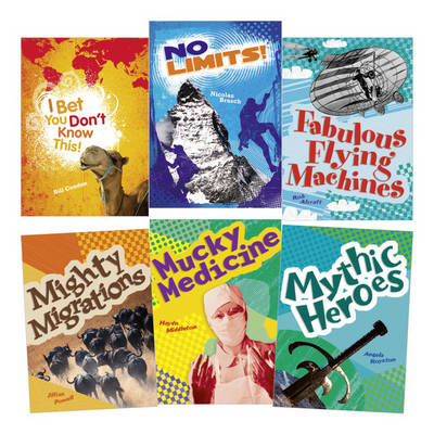 Learn at Home:Pocket Reads Year 4 Non-fiction Pack (6 Books)