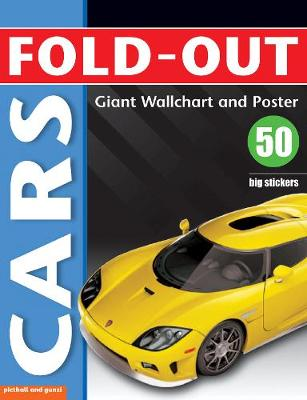 Fold-Out Poster Sticker Book: Cars