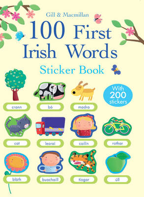 100 First Irish Words Sticker Book