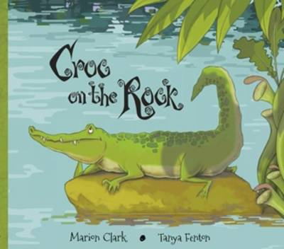Croc On The Rock