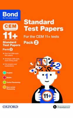 Bond 11+: CEM: Standard Test Papers: Pack 2