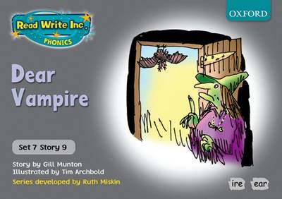 Read Write Inc. Phonics: Grey Set 7 Storybooks: Dear Vampire