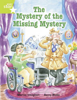 Rigby Star Independent Lime: Mystery of the Missing Mystery Reader Pack