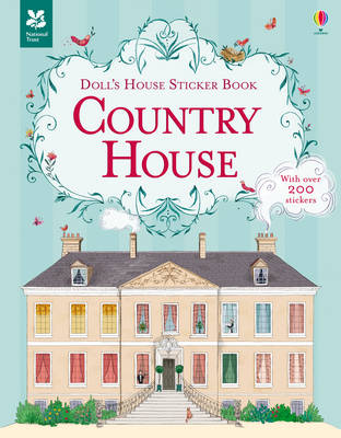 Doll's House Sticker Book Country House