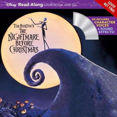 Tim Burton's The Nightmare Before Christmas: Read-Along Story Book and CD