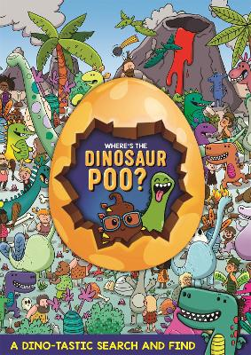 Where's the Dinosaur Poo? Search and Find