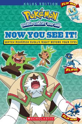 Now You See It! Kalos Edition