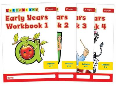 Early Years Workbooks