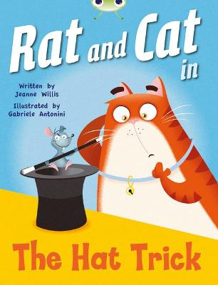 Bug Club Red A (KS1) Rat and Cat in the Hat Trick 6-pack