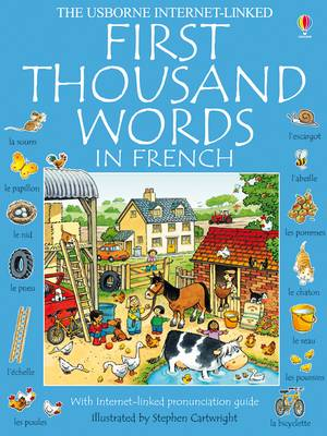 First Thousand Words In French Mini Ed