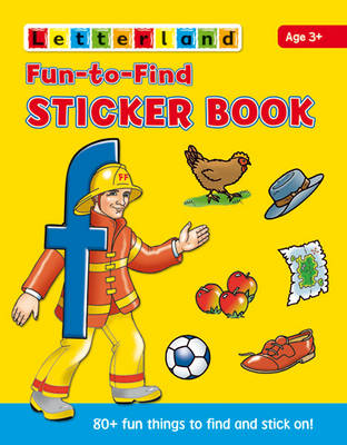 Fun to Find Sticker Book