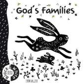 God's Families: Black and White Baby Book