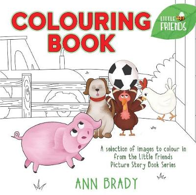 Little Friends Colouring Book