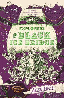 Explorers on Black Ice Bridge