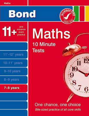 Bond 10 Minute Tests Maths 7-8 Years