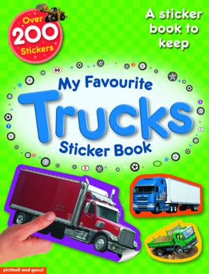 My Favourite Sticker Book: Trucks