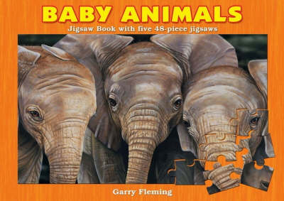 Baby Animals Jigsaw Book