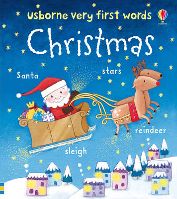 Usborne Very First Words: Christmas