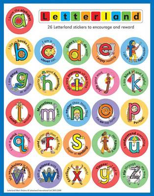 Letterland Merit Stickers