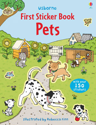 First Sticker Book Pets