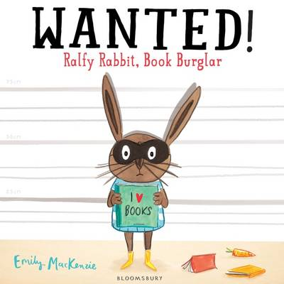 Wanted! Ralfy Rabbit, Book Burglar