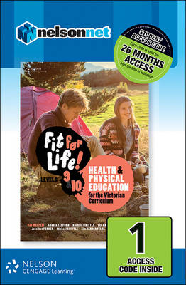 Fit for Life! Years 9&10: Health and Physical Education for the Victorian Curriculum 1-Code Access Card