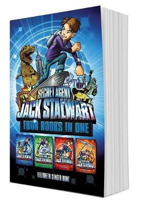 Secret Agent Jack Stalwart (Books 1-4): The Escape of the Deadly Dinosaur, The Search for the Sunken Treasure, The Mystery of the Mona Lisa, The Caper of the Crown Jewels