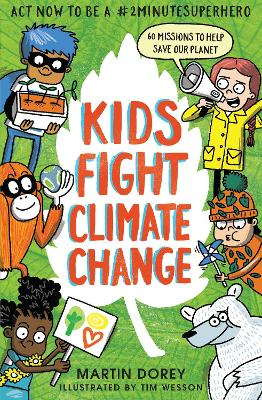 Kids Fight Climate Change: Act now to be a #2minutesuperhero