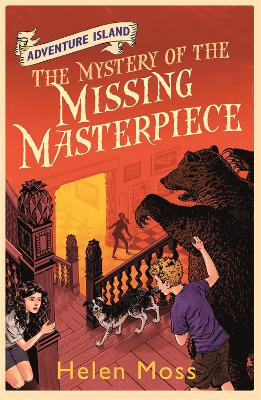 Adventure Island: The Mystery of the Missing Masterpiece: Book 4