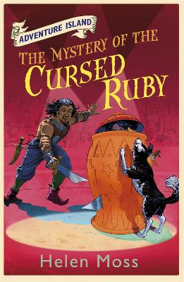 Adventure Island: The Mystery of the Cursed Ruby: Book 5