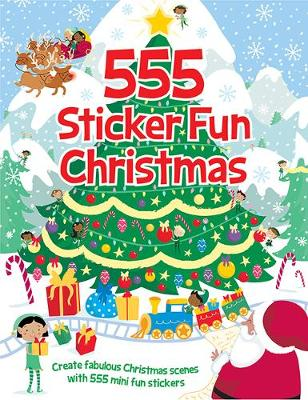 555 Sticker Fun Christmas