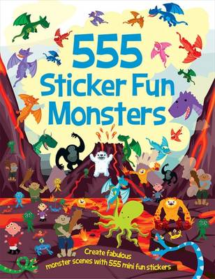 555 Sticker Fun Monsters
