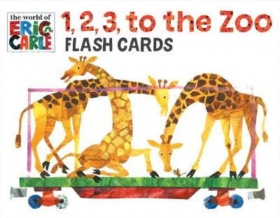 1, 2, 3 to the Zoo Train Flash Cards