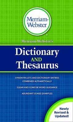 MerriamWebster's Dictionary and Thesaurus