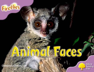 Oxford Reading Tree: Level 1+: More Fireflies A: Animal Faces