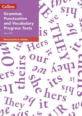 Year 1/P2 Grammar, Punctuation and Vocabulary Progress Tests