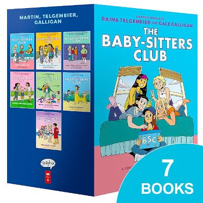Babysitters Club Graphix #1-7 Box Set