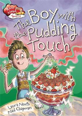 Boy with Pudding Touch
