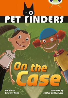 BC Grey B/4C Pet Finders on the Case