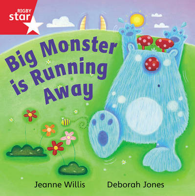 Rigby Star Independent Reception Red Book 16 Big Monster is Running Away Group Pack