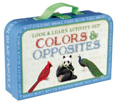 Look & Learn Activity Set: Colors & Opposites