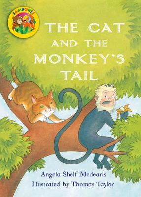Jamboree Storytime Level B: The Cat and the Monkey's Tail Big Book