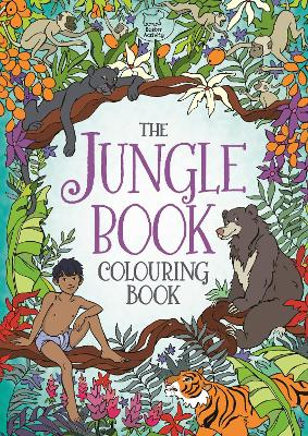 The Jungle Book Colouring Book