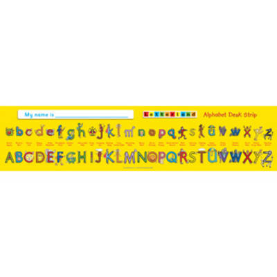 Alphabet Desk Strip