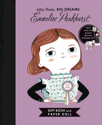 Little People, BIG DREAMS: Emmeline Pankhurst Book and Paper Doll Gift Edition Set