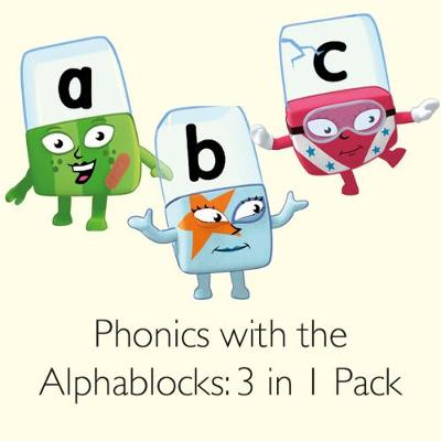 Phonics with the Alphablocks Multi-pack: Starting Phonics, Simple Phonics and Super Phonics for children age 3-5 (Contains 9 reading books, Alphablocks tiles, Alphablocks cards and parent guides)