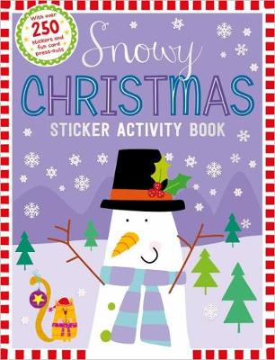 Snowy Christmas Sticker Activity Book