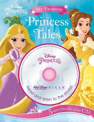 Disney Princess My Favourite Princess Tales: 5 Storybooks Plus CD