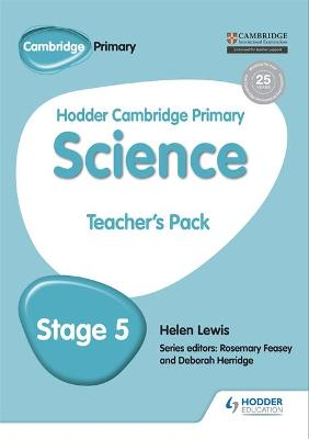 Hodder Cambridge Primary Science Teacher's Pack 5