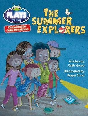 Bug Club Julia Donaldson Plays Grey/3A-4C The Summer Explorers